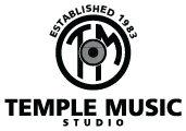 Temple Music Studio Logo